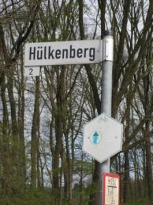 Sesshaft werden? Straßenschild in Isselburg