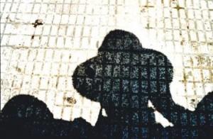 Spuren suchen - Schatten werfen